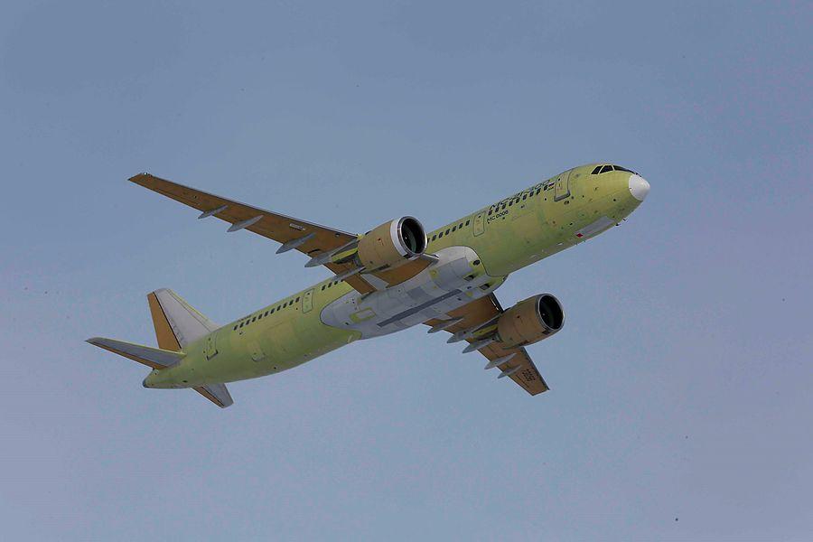 Первый серийный самолёт МС-21 поднимется в небо в декабре 2021 года