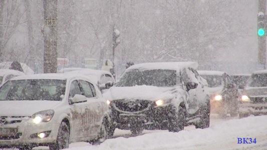 15 февраля по  области и в Волгограде ожидаются значительные осадки и усиление ветра до 20 мс