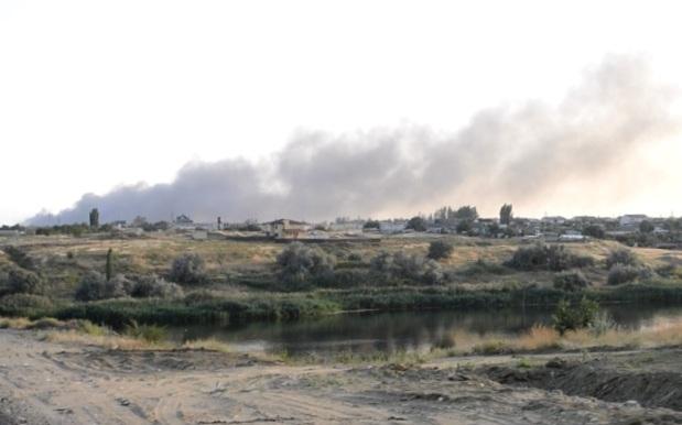 Военнослужащие мотострелкового соединения ЮВО потушили пожар в Волгограде